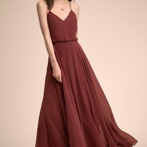 BHLDN Inesse Bridesmaid Dress in Cinnamon Rose